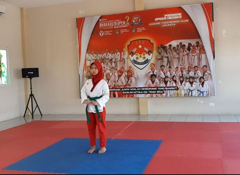 Juara 1 Kejurnas Taekwondo Bharaduta Open Online Championship